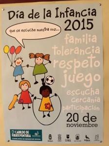 cartel derechos de la infancia